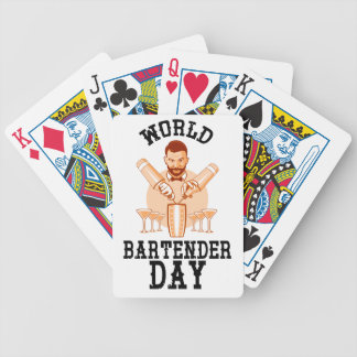 24th February - World Bartender Day Bicycle Playing Cards