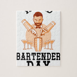 24th February - World Bartender Day Jigsaw Puzzle