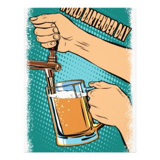 24th February - World Bartender Day Letterhead