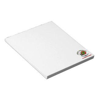 24th ID Huey w/ Wings Memo Notepad