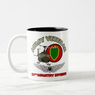 24th ID Huey w/ Wings Mugs