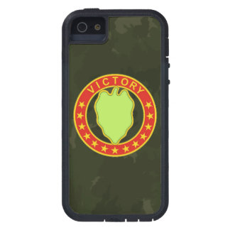 """24th Infantry Division  """"Dark Green Camo"""" iPhone 5 Case"""