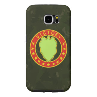 "24th Infantry Division  ""Dark Green Camo"" Samsung Galaxy S6 Case"