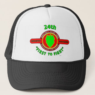 "24TH INFANTRY DIVISION ""FIRST TO FIGHT"" PRODUCTS TRUCKER HAT"