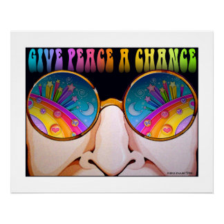 24x30 POSTER, ARCHIVAL PRINT - SHADES OF SIXTIES