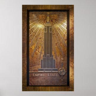 24x40 Empire Stare Building Poster Print