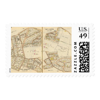 250251 puerto Chester Sello Postal