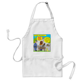 253 movie about to start cartoon adult apron