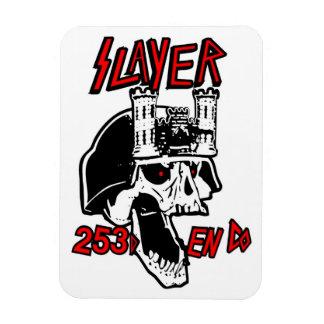 253rd Combat Engineers Slayer Magnet