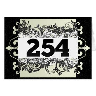 254 TARJETON