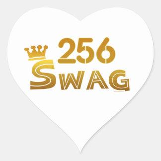 256 Alabama Swag Heart Sticker