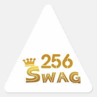 256 Alabama Swag Triangle Sticker