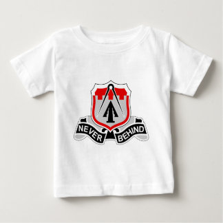 256th Infantry Brigade Combat Team - Never Behind Baby T-Shirt