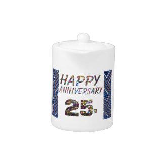 25 25tos regalos felices del aniversario