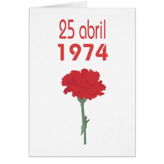 25 Abril Card