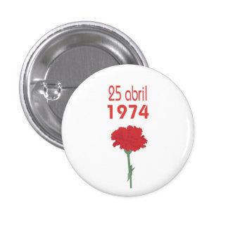 25 Abril Pinback Button