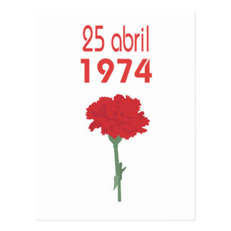 25 Abril Postcard
