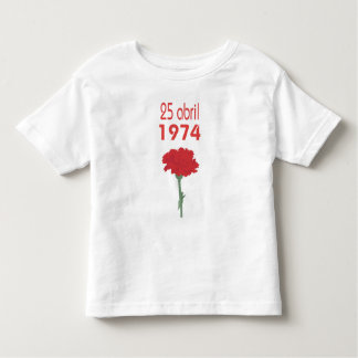 25 Abril Toddler T-shirt