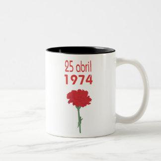 25 Abril Two-Tone Coffee Mug