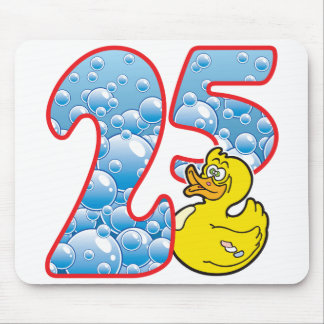 25 Age Duck Mouse Pad