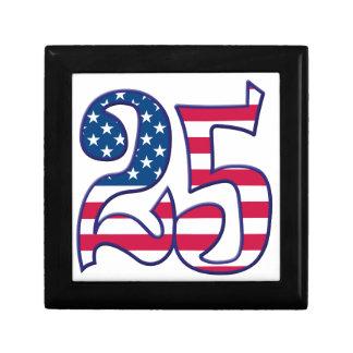 25 Age USA Keepsake Box