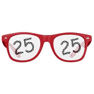 25 años Bday - 25to cumpleaños Lentes De Sol