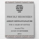 25 años de placa del servicio