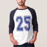 25 Custom Jersey T-Shirt