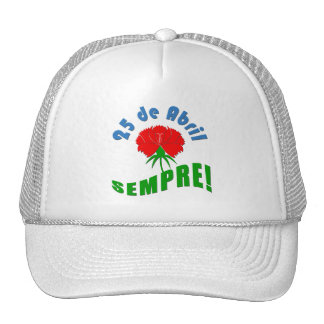 ¡25 de Abril Sempre! Gorras De Camionero