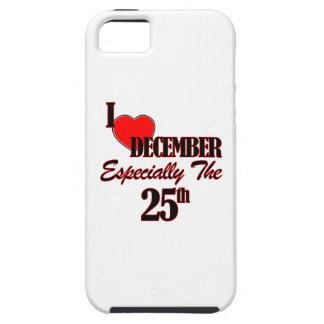 25 de diciembre diseños iPhone 5 Case-Mate protector