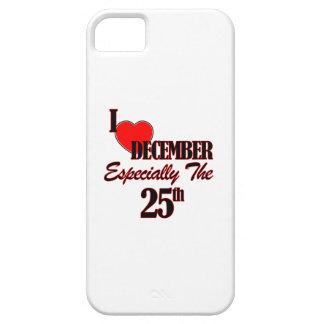 25 de diciembre diseños iPhone 5 coberturas