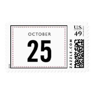 25 de octubre franqueo