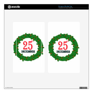 25 December 2015 Image Kindle Fire Decal