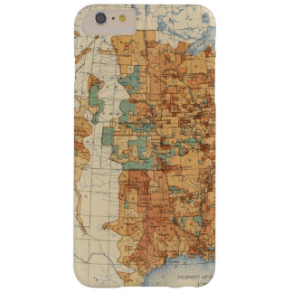 25 Density of increase of population, US, 18901900 Barely There iPhone 6 Plus Case