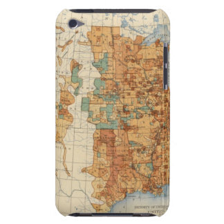 25 Density of increase of population, US, 18901900 Barely There iPod Case