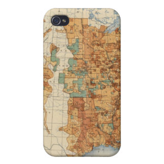 25 Density of increase of population, US, 18901900 Covers For iPhone 4