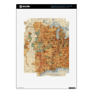 25 Density of increase of population, US, 18901900 Decals For iPad 3