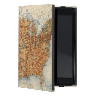 25 Density of increase of population, US, 18901900 iPad Mini Case