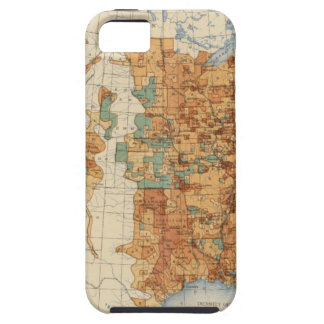 25 Density of increase of population, US, 18901900 iPhone SE/5/5s Case
