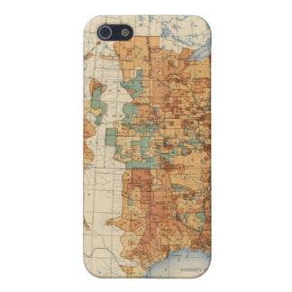 25 Density of increase of population, US, 18901900 iPhone SE/5/5s Cover