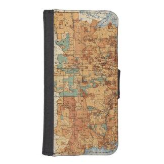 25 Density of increase of population, US, 18901900 iPhone SE/5/5s Wallet