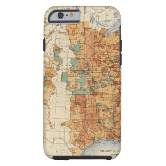 25 Density of increase of population, US, 18901900 iPhone 6 Case