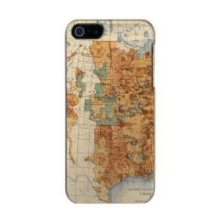 25 Density of increase of population, US, 18901900 Metallic Phone Case For iPhone SE/5/5s