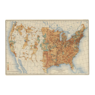 25 Density of increase of population, US, 18901900 Placemat