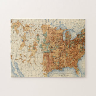 25 Density of increase of population, US, 18901900 Puzzle