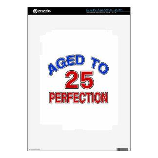 25 envejecido a la perfección pegatinas skins para iPad 3