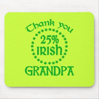 25% Irish - Thank You Grandpa Mouse Pad