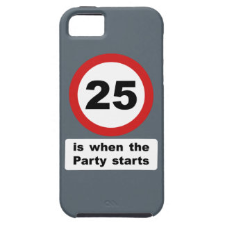 25 is when the Party Starts iPhone SE/5/5s Case