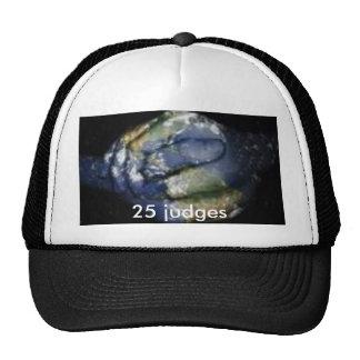 25 judges hat