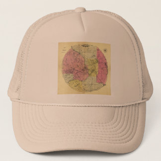 25 Miles Around Minneapolis - 1881 Map Trucker Hat